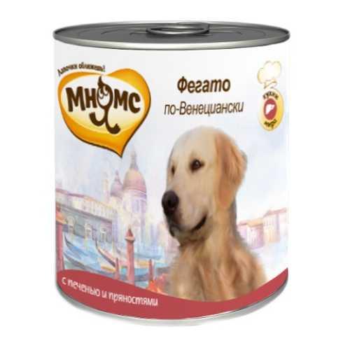 Мнямс консервы для собак печень с пряностями (0,60 кг) 6 шт