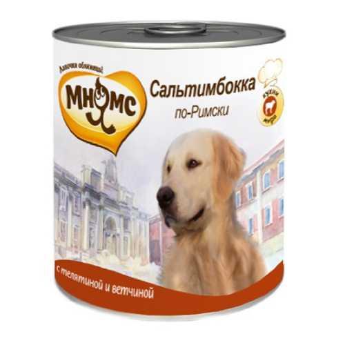 Мнямс консервы для собак телятина с ветчиной (0,60 кг) 6 шт