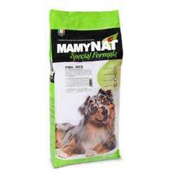 MamyNat Fish and Rice корм для собак с рыбой 20 кг