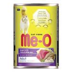 Me-O консервы для кошек с морепродуктами (0,4 кг) 1 шт