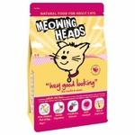 Meowing Heads chicken сухой корм для кошек с курицей 4 кг