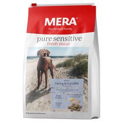Mera Pure Sensitive Fresh Meat корм для собак с сельдью 4 кг