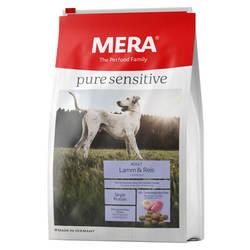 Mera Pure Sensitive Lamm and Reis корм для собак с ягненком 12,5 кг