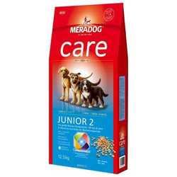 Meradog Junior 2 корм для щенков крупных пород 12,5 кг